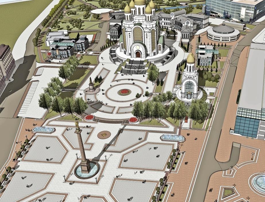 Участок возле площади Победы в Калининграде планируют отдать РПЦ - Новости Калининграда