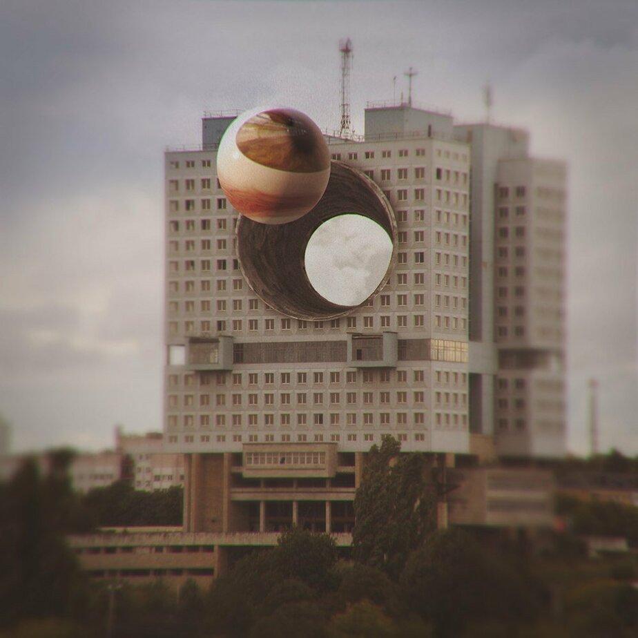Калининградец сделал снимок, как Дом советов плавит межгалактический глаз - Новости Калининграда