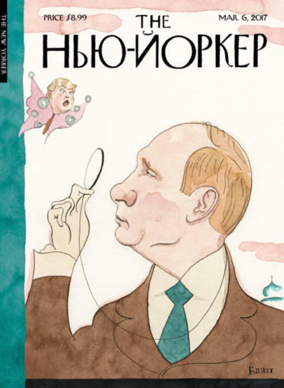 Вышел номер журнала New Yorker с Путиным на обложке - Новости Калининграда