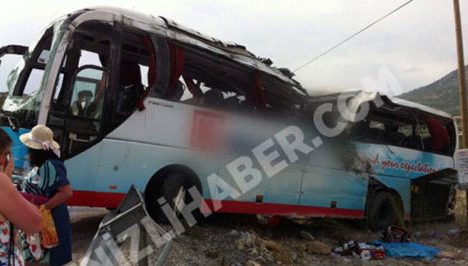 Туристический автобус с россиянами попал в ДТП в Турции - Новости Калининграда