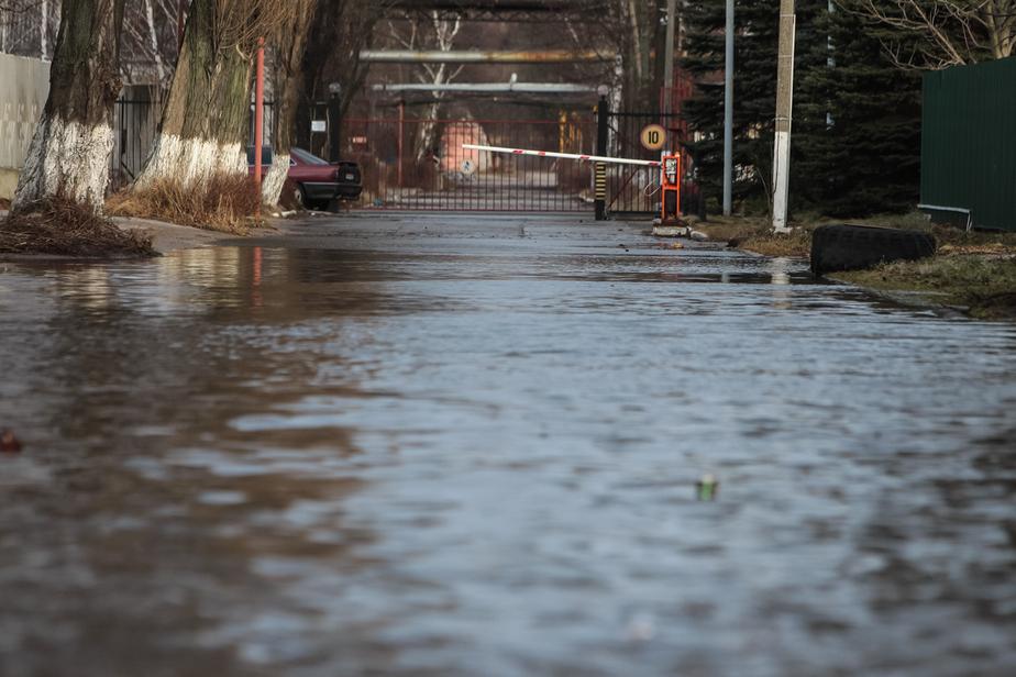 Калининград оказался в центре активного циклона, который принес сильные дожди