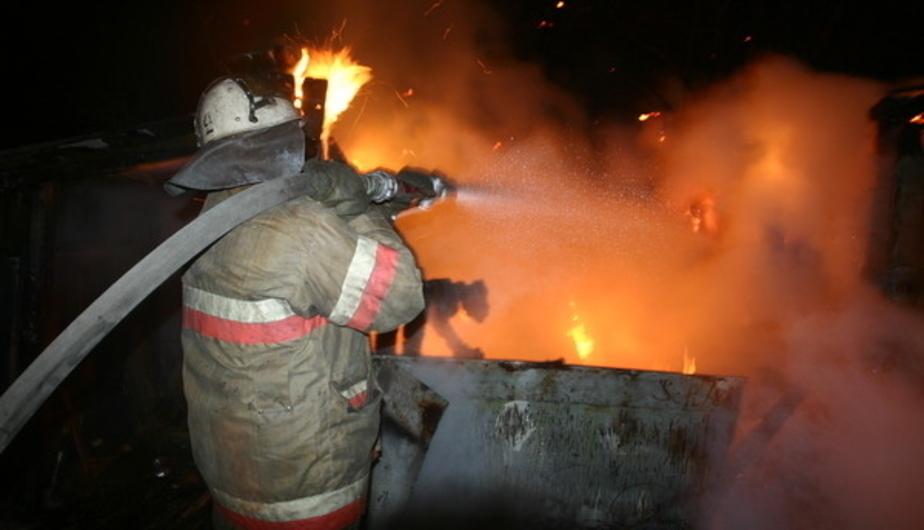 В Калининграде из-за сломавшегося электрообогревателя сгорел дом