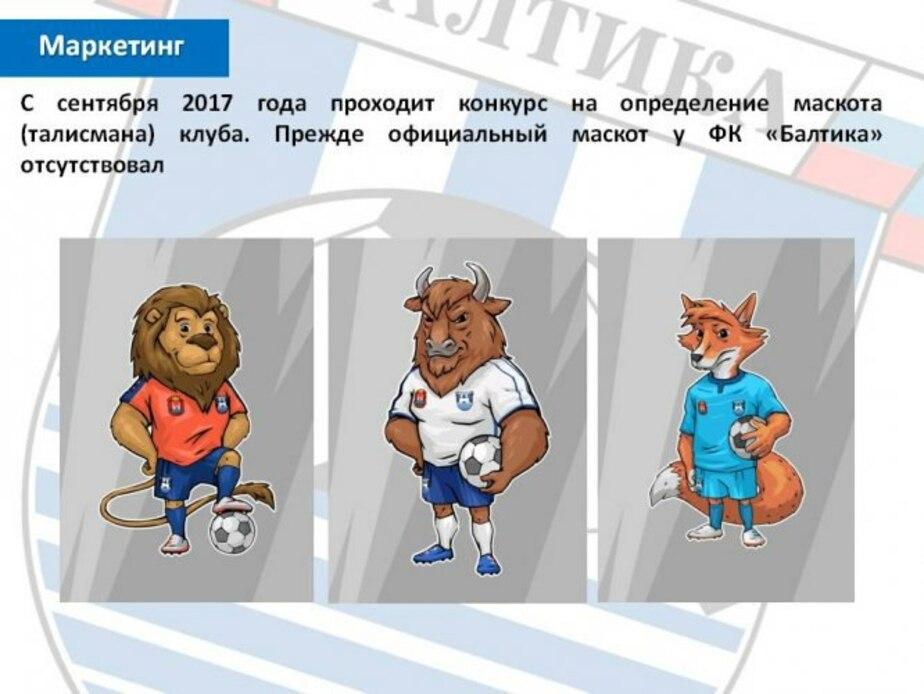 """Иллюстрация предоставлена пресс-службой ФК """"Балтика"""""""