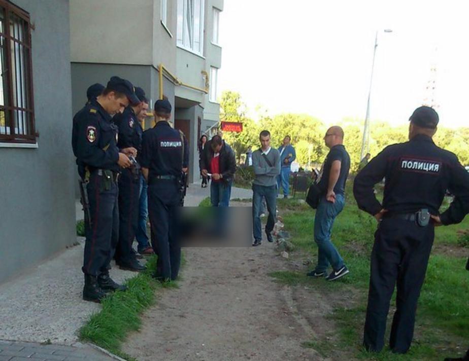 СК: упавшая из высотки калининградка жила в этом доме, ее муж был в командировке - Новости Калининграда