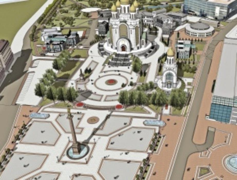 В центре Калининграда до конца года появится новый сквер  - Новости Калининграда