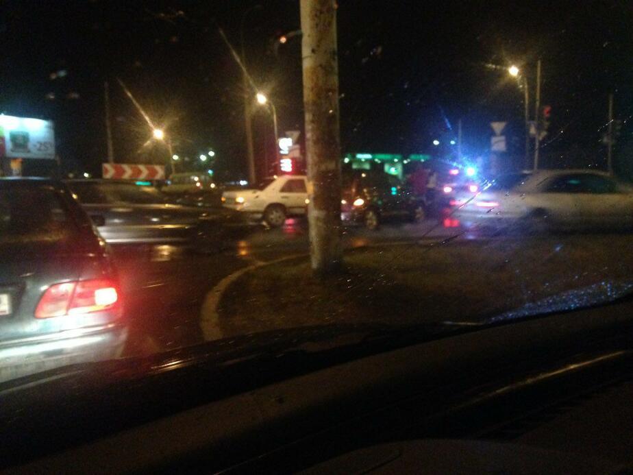 Авария на Борзова парализовала движение на ближайших улицах - Новости Калининграда