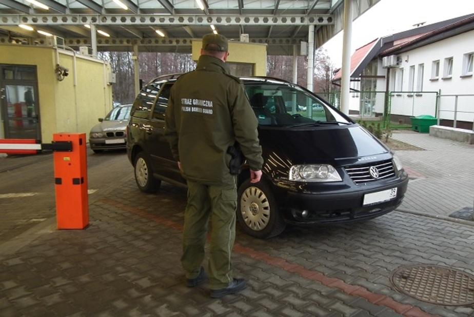 """На границе с Калининградом задержан """"Фольксваген"""", разыскиваемый в Германии"""
