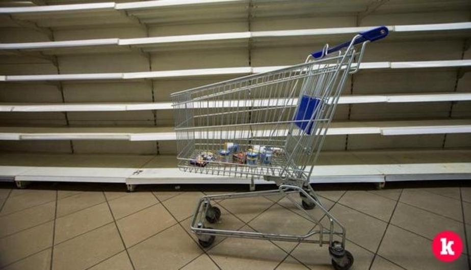 В польском супермаркете толпа пенсионеров устроила давку из-за скидки на сахар (видео) - Новости Калининграда