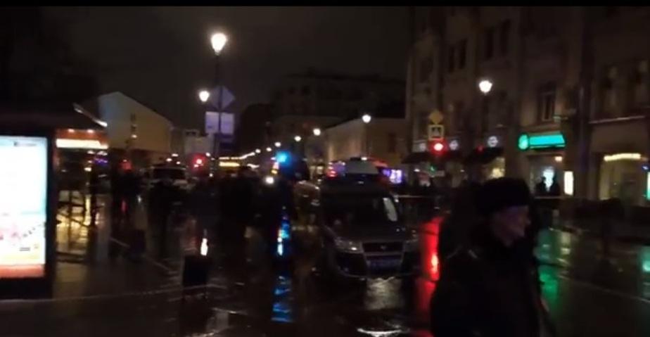 Взрыв в центре Москвы попал в объектив камеры видеонаблюдения - Новости Калининграда