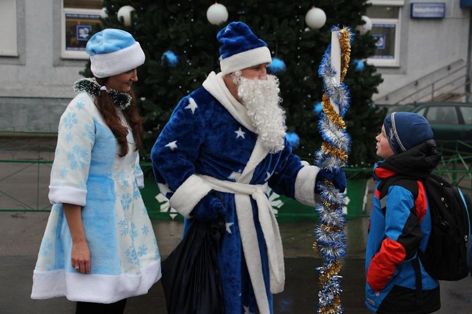 На востоке Калининградской области побывал поезд Деда Мороза - Новости Калининграда