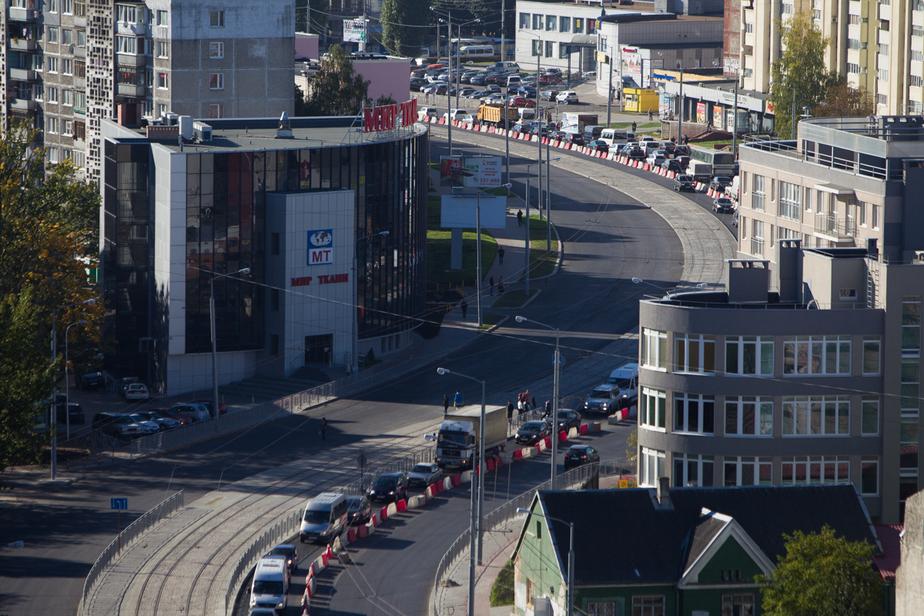 По открытой после реконструкции улице 9 Апреля в выходные пустят трамвай