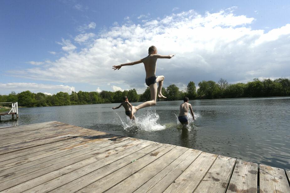 На озере Шенфлиз едва не утонули двое калининградцев - Новости Калининграда