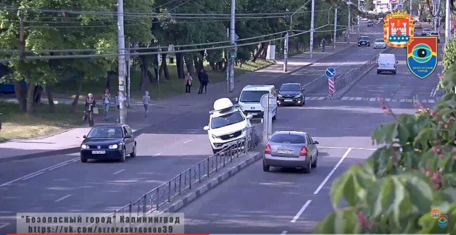 """Кадр видеозаписи системы """"Безопасный город"""""""