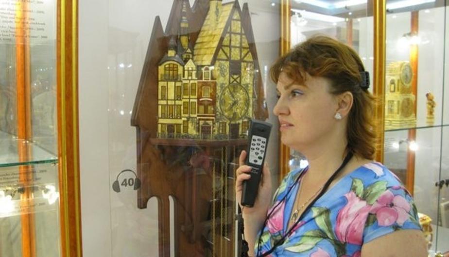 В калининградском Музее янтаря прошла презентация туристических аудиогидов - Новости Калининграда