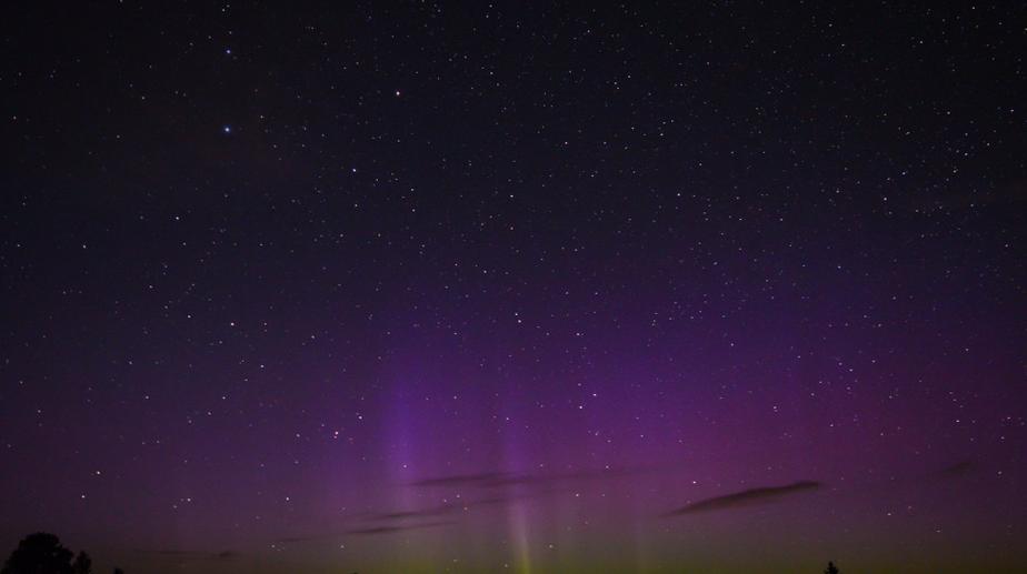 В небе над Литвой наблюдали Северное сияние - Новости Калининграда