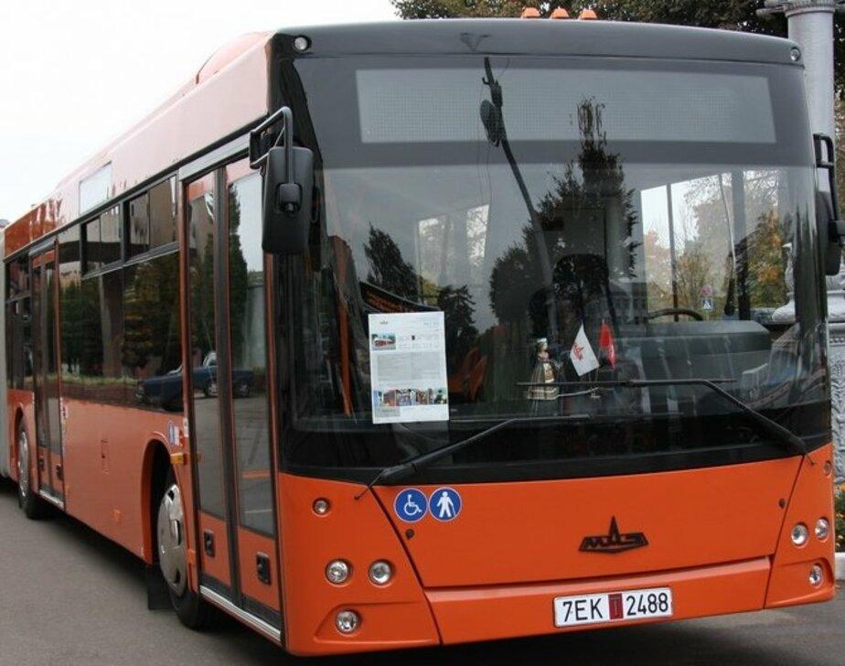 Правительство помогло Калининграду купить низкопольные автобусы - Новости Калининграда
