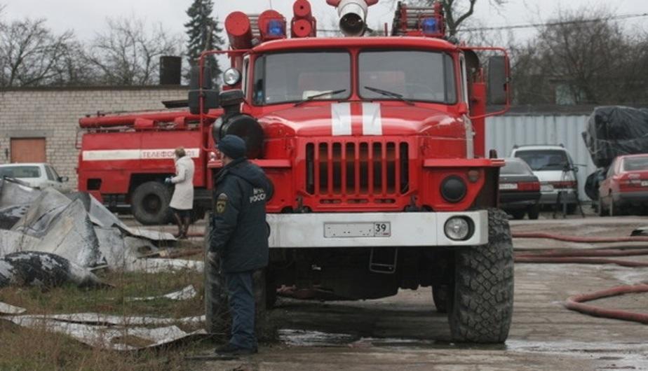 В Калининградской области пожарный расчёт попал в аварию