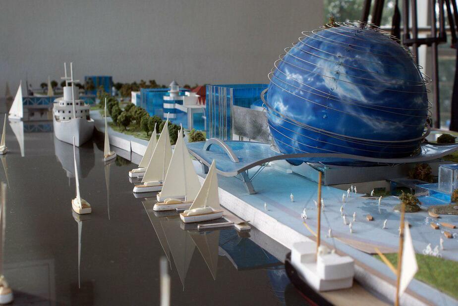 Макет Музея Мирового океана