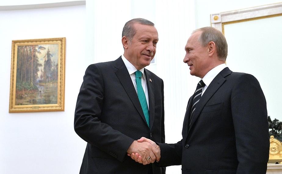 """Эрдоган пообещал Путину """"обеспечить безопасность российских туристов"""" - Новости Калининграда"""