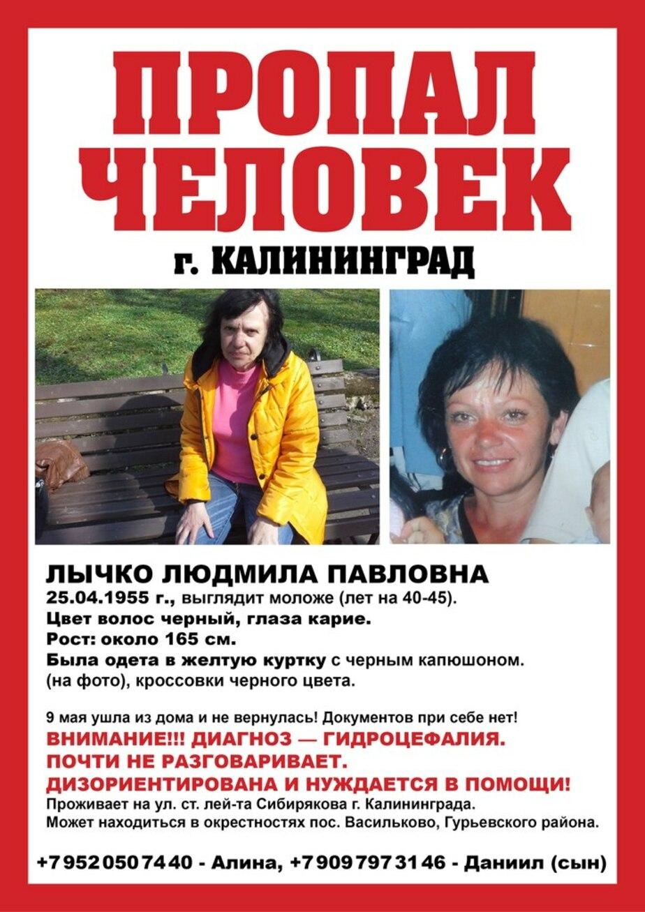 Родственники пропавшей калининградки собирают волонтеров для поисков - Новости Калининграда