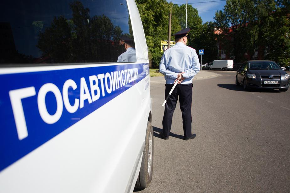 В Калининградской области спецотряды ГИБДД задержали 306 нарушителей за неделю - Новости Калининграда