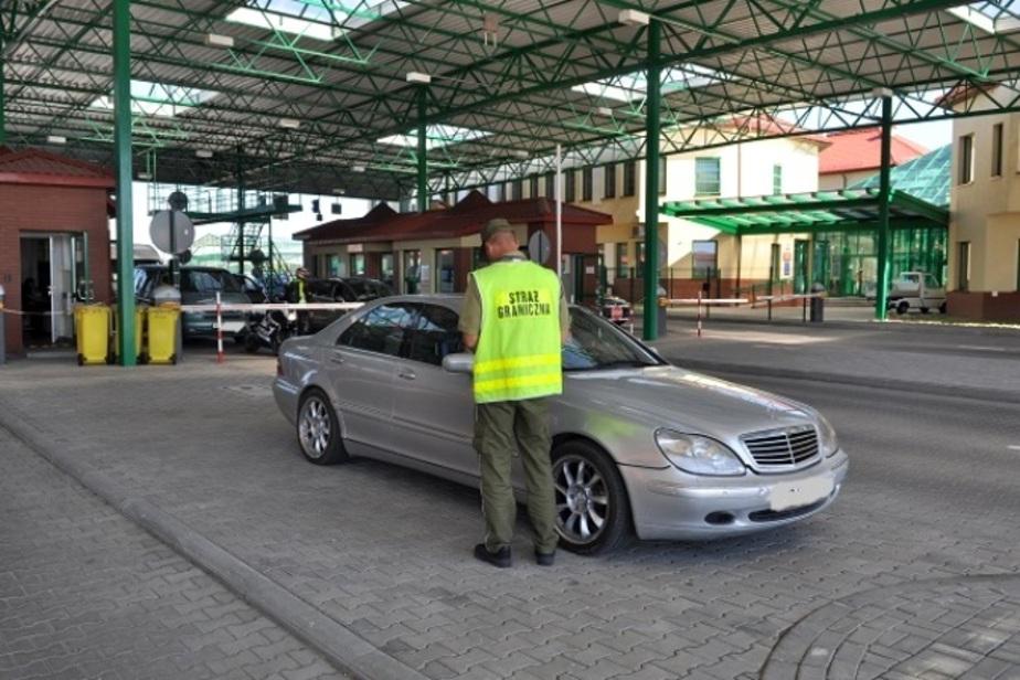 В Гжехотках задержали поляка и россиянина на автомобилях с перебитыми номерами - Новости Калининграда