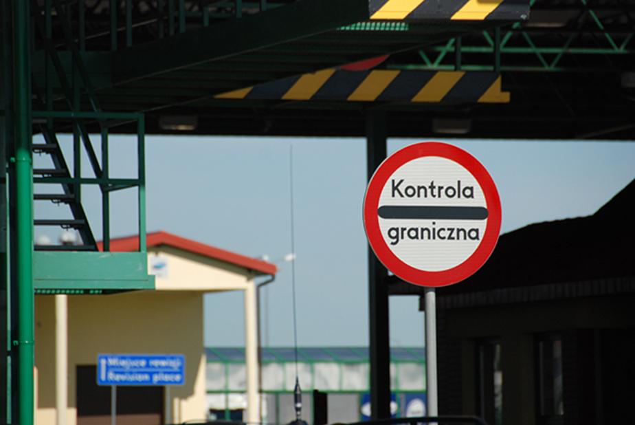 Литва потратила 1 млн евро на установку знаков на границе с Калининградской областью
