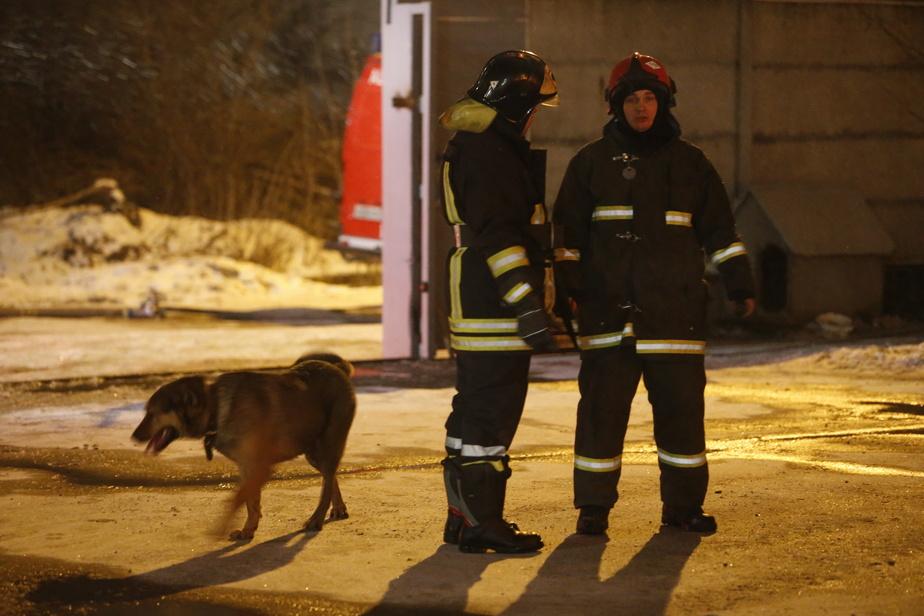 В Калининградской области горели легковушки и фура