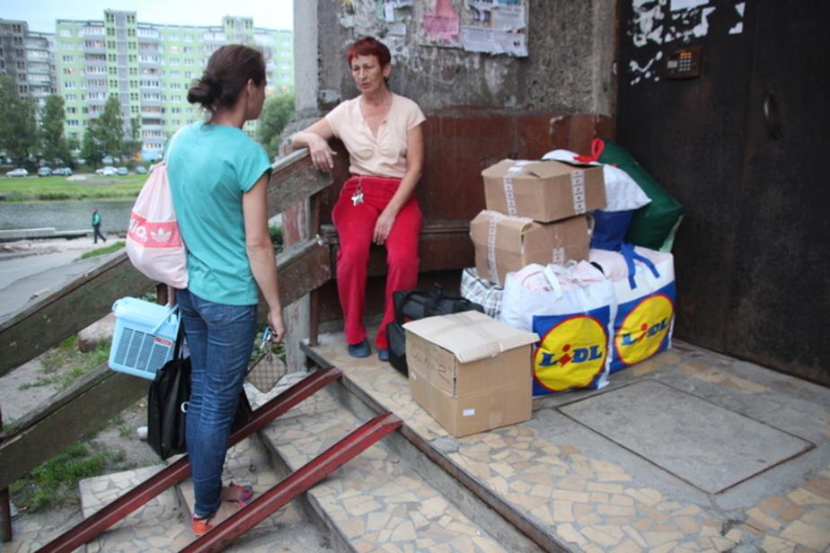 Жильцы накренившегося дома на Московском проспекте начали переезжать в новые квартиры  - Новости Калининграда