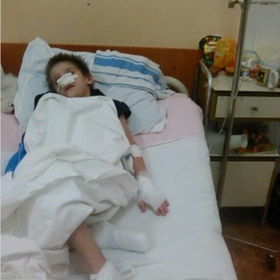 Попавший с обморожением в калининградскую больницу 9-летний мальчик пошёл на поправку