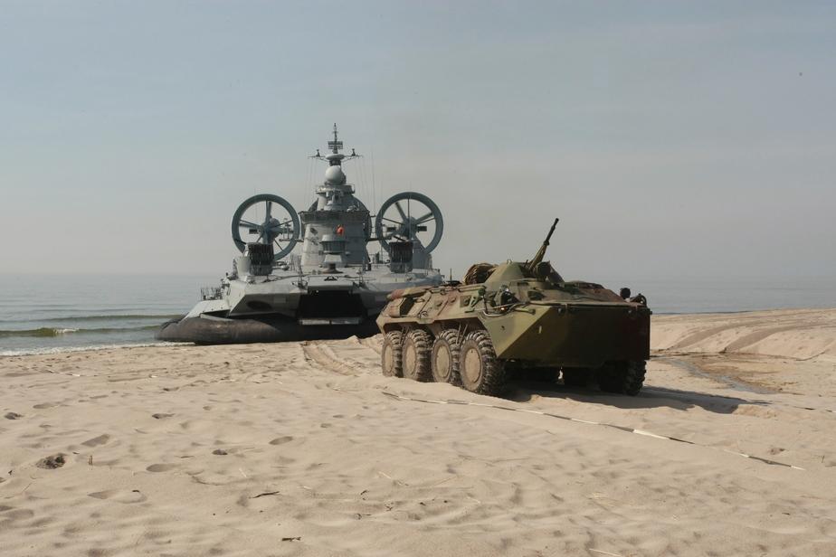 На берег Балтийского моря высадится десант морпехов  - Новости Калининграда