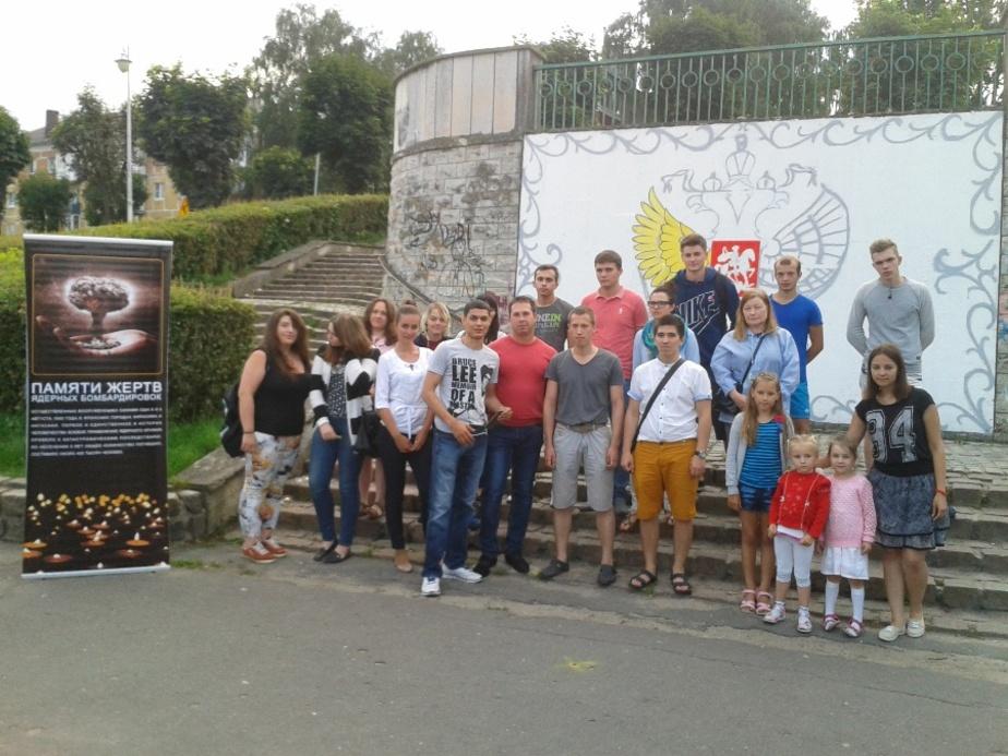 В Калининграде почтили память жертв атомной бомбардировки Хиросимы и Нагасаки - Новости Калининграда