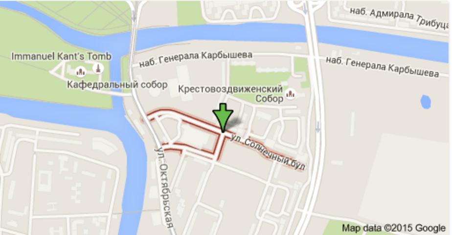 Вдоль Солнечного бульвара построят 5-метровую пешеходную зону - Новости Калининграда