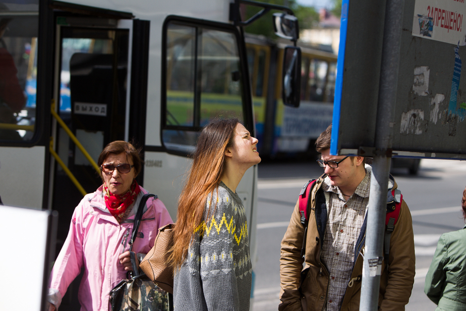 Водитель автобуса, зажавшего пенсионерку: Она заскочила в закрывающиеся двери - Новости Калининграда