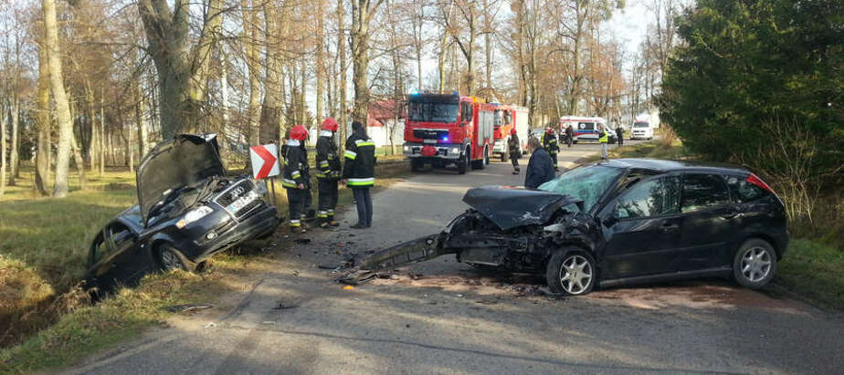 В Безледах произошла серьёзная авария с пострадавшими, блокировавшая трассу - Новости Калининграда