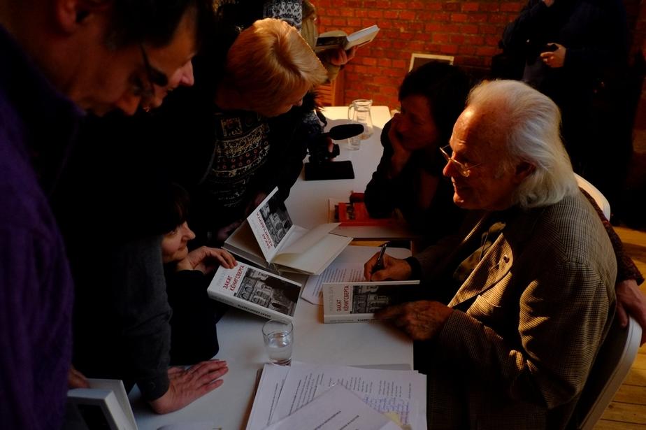 """На презентацию книги """"Закат Кёнигсберга"""" пришло рекордное число калининградцев"""