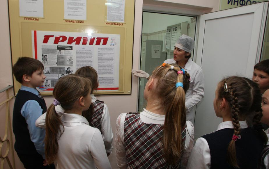 В Калининграде из-за эпидемии гриппа закрываются все школы - Новости Калининграда