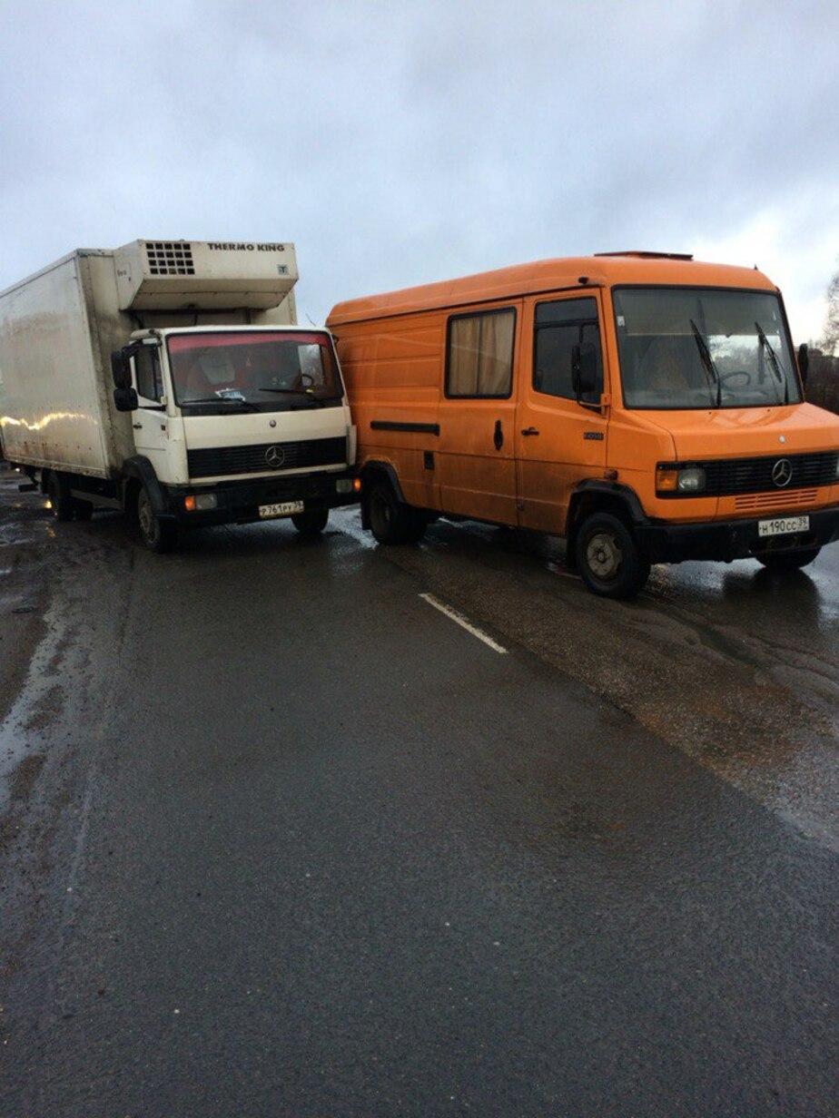 На Московском проспекте из-за аварии образовалась пробка