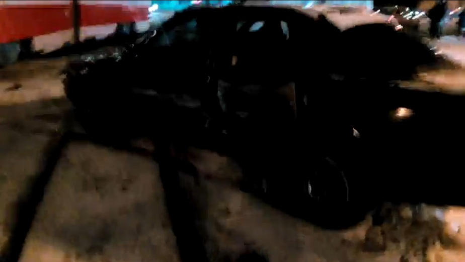 """Очевидцы: на Московском проспекте столкнулись трамвай и """"Ауди"""" (видео) - Новости Калининграда"""