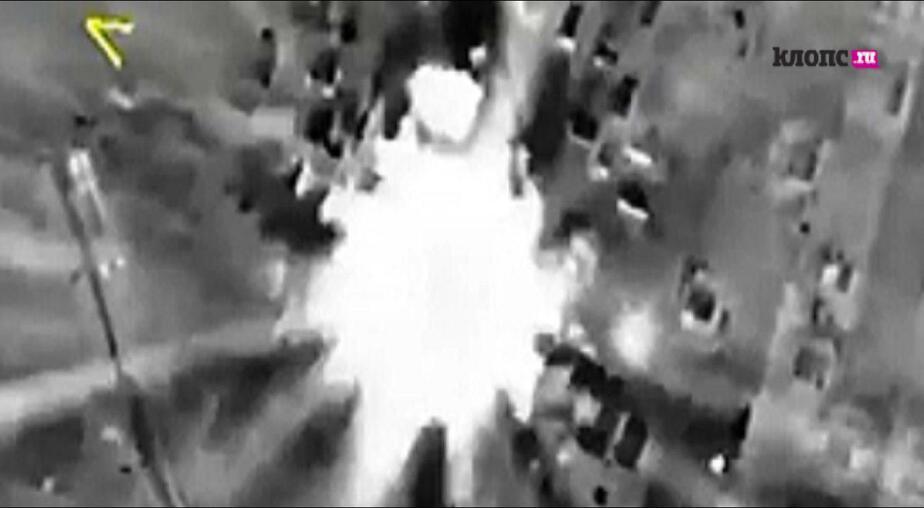 Минобороны РФ: командный пункт ИГ был уничтожен фугасной авиабомбой (видео) - Новости Калининграда