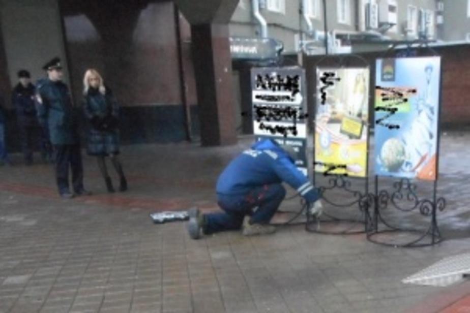В Калининграде будут бороться с переносными рекламными щитами с помощью стикеров