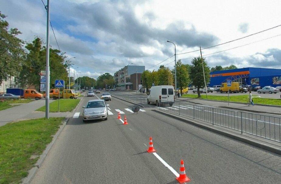 На улице Гагарина, где мотоциклист сбил девушку, закроют пешеходный переход - Новости Калининграда