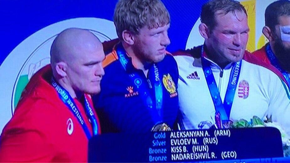 Калининградец занял второе место на Чемпионате мира по греко-римской борьбе - Новости Калининграда