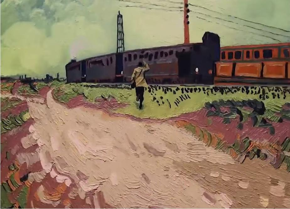 """Кадр фильма """"Ван Гог. С любовью, Винсент"""""""