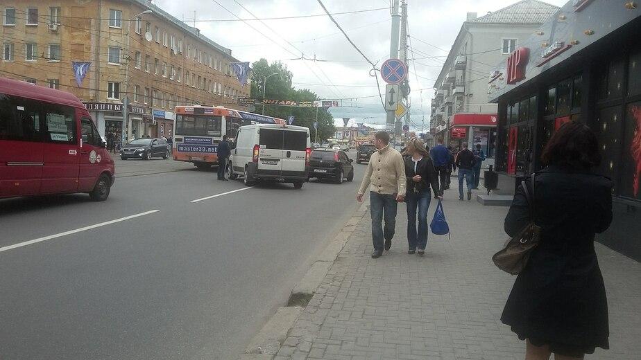 В разных местах Калининграда произошли одинаковые ДТП - Новости Калининграда