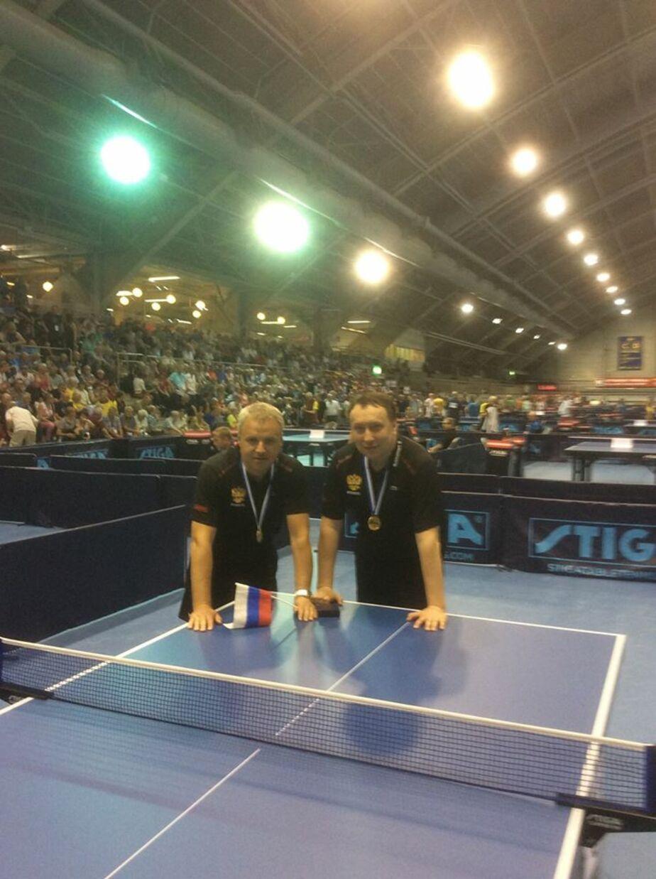 Калининградец выиграл чемпионат Европы по настольному теннису среди ветеранов - Новости Калининграда