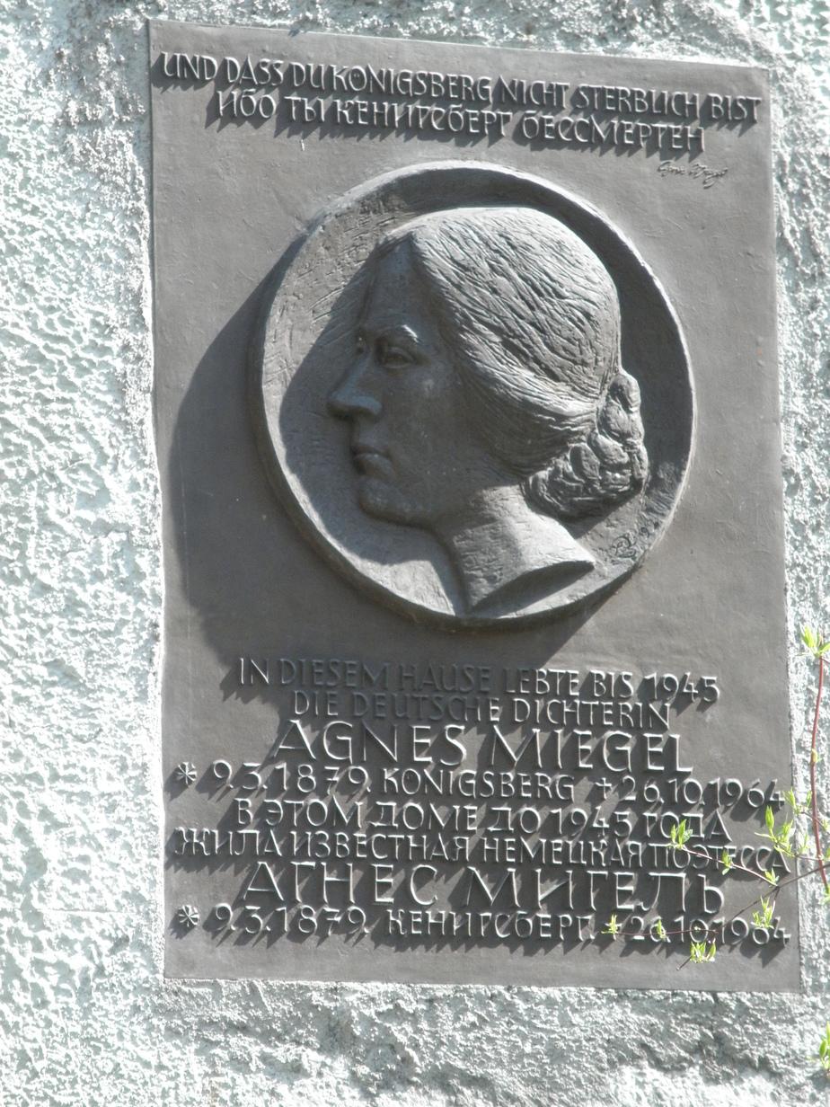 В Калининградской области демонтировали две мемориальные доски немецкой поэтессе, поддерживавшей Гитлера - Новости Калининграда