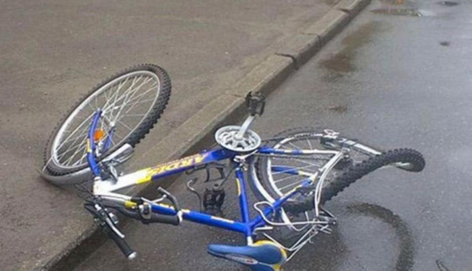 """В Калининграде """"Тойота"""" сбила во дворе велосипедиста - Новости Калининграда"""