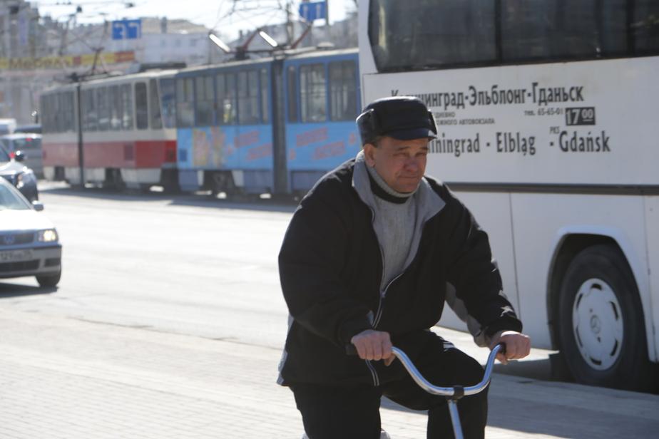 Из-за аварии на мосту на ул. Октябрьской встали шесть трамваев - Новости Калининграда