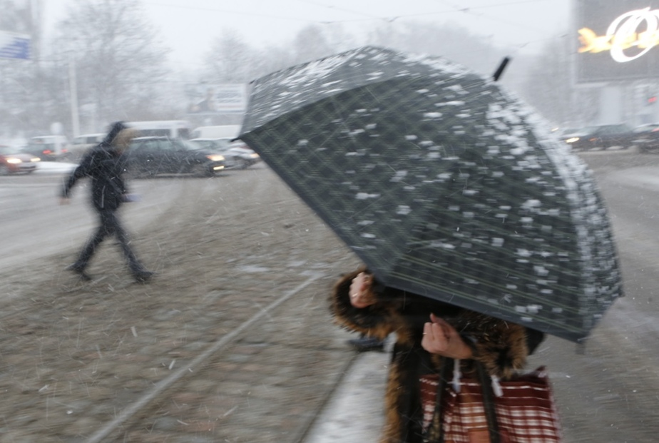 В воскресенье в Калининграде пойдёт снег